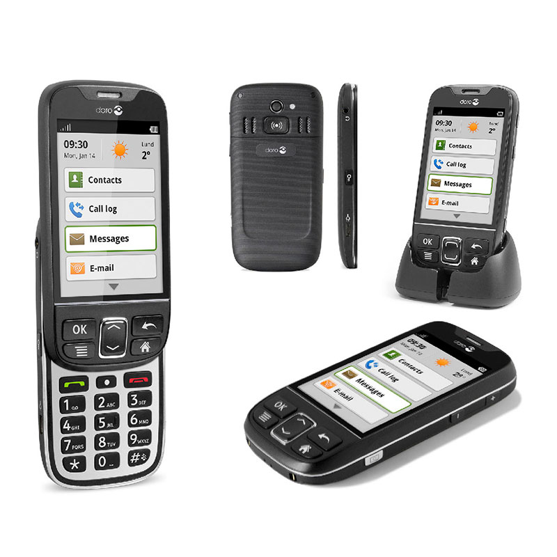 doro 740 PhoneEasy Android - Access to Sound from Sarabec